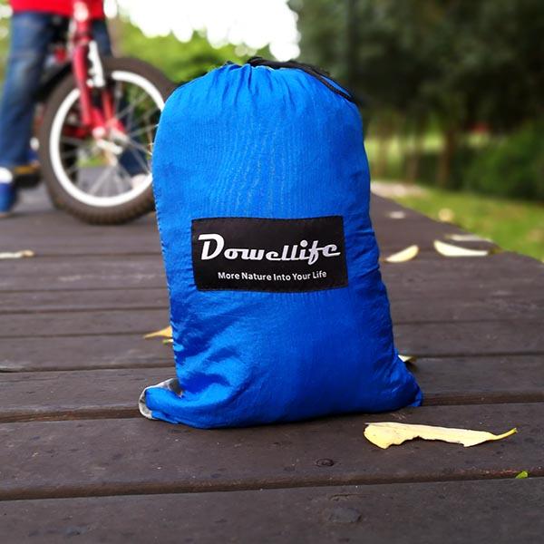 Dowellife XL Double Parachute Camping Hammock- Lightweight Nylon